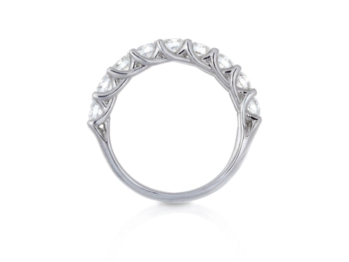 Pamela Lauz Jewellery - Interlaced Diamond Eternity Wedding Band
