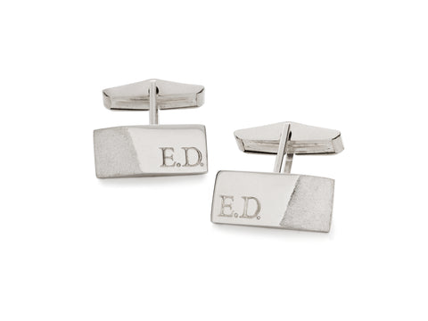 Diamond Pillow Stud Earrings