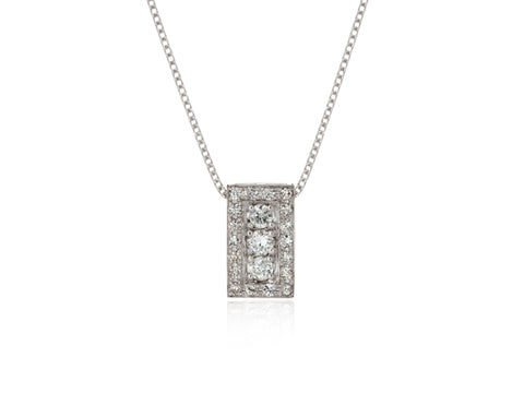 Diamond Family Pendant