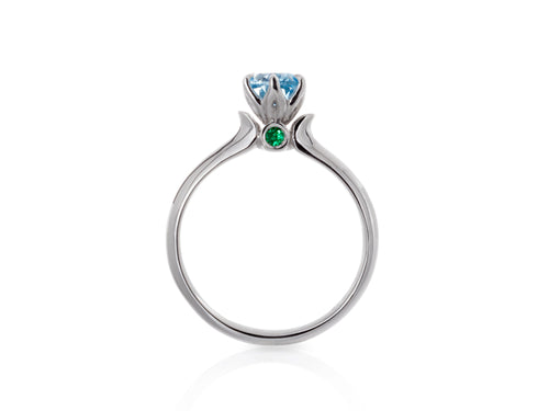 Pamela Lauz Jewellery - Tulip Diamond Engagement Ring