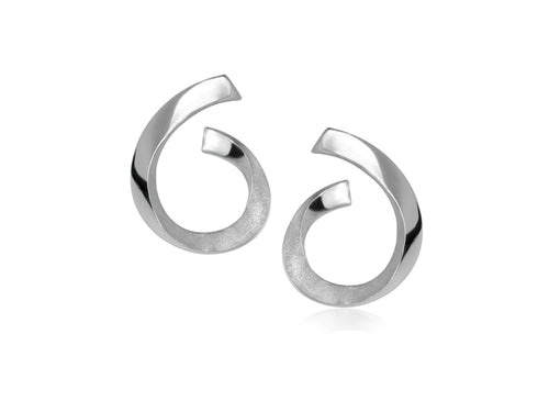 Pamela Lauz Jewellery - Rhapsody Silver Earrings
