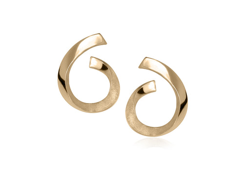 Pamela Lauz Jewellery - Rhapsody Gold Earrings
