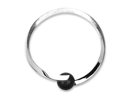 Pamela Lauz Jewellery - Rhapsody Black Onyx Bangle