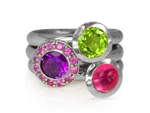 Pamela Lauz Jewellery - Dolci Stacking Rings
