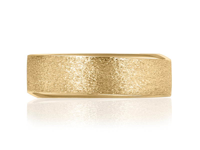 Pamela Lauz Jewellery - Solstice Beveled Band