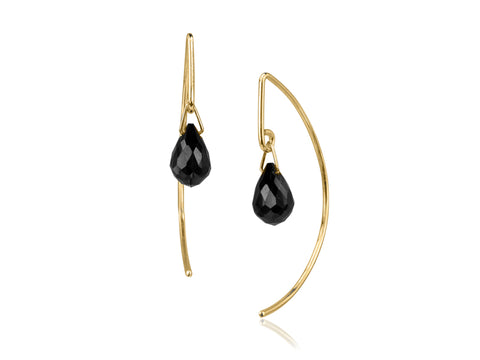 Terra Open Pebble Earrings