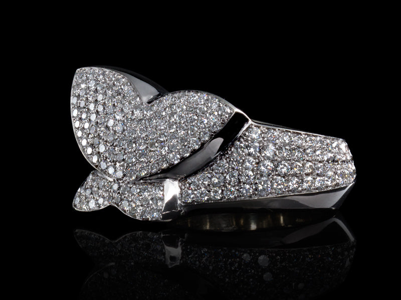 Pamela Lauz Jewellery - Solstice Diamond Butterfly Cocktail Ring