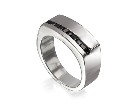 Dolci Round Wedding Rings