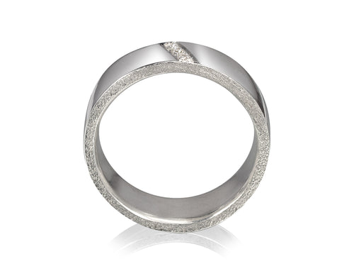 Pamela Lauz Jewellery - Edge Round Wedding Band