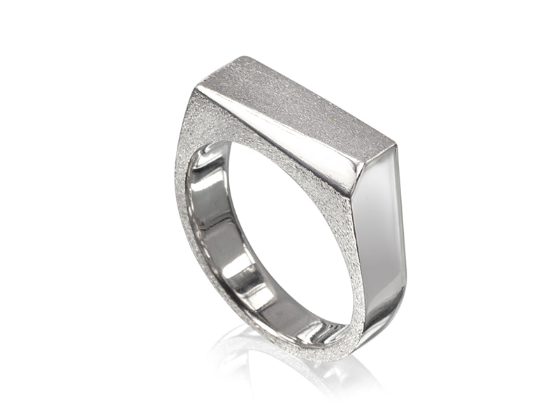 Pamela Lauz Jewellery - Facets 'The Slice' Men's Ring