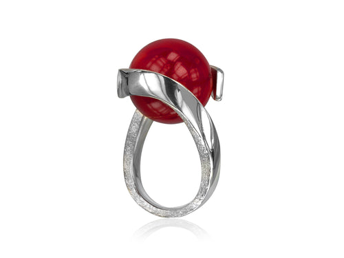 Pamela Lauz Jewellery - Rhapsody Sea Bamboo Ring