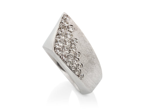 Pamela Lauz Jewellery - Solstice Diamond Dip Cocktail Ring