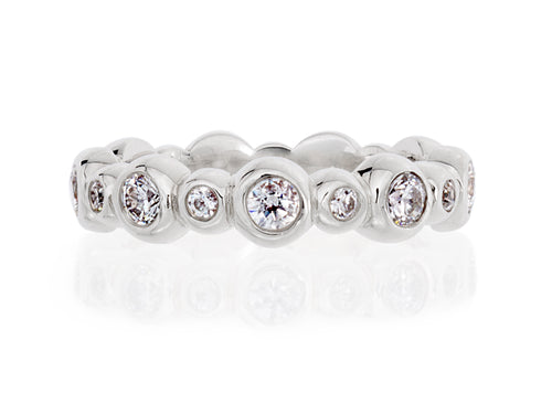 Pamela Lauz Jewellery - Diamond Bezel Wedding Band