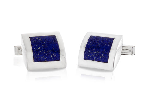 Facets Silver & Bronze Cufflinks