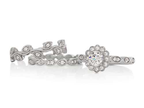 Pamela Lauz Jewellery - Marquise Branches Diamond Band