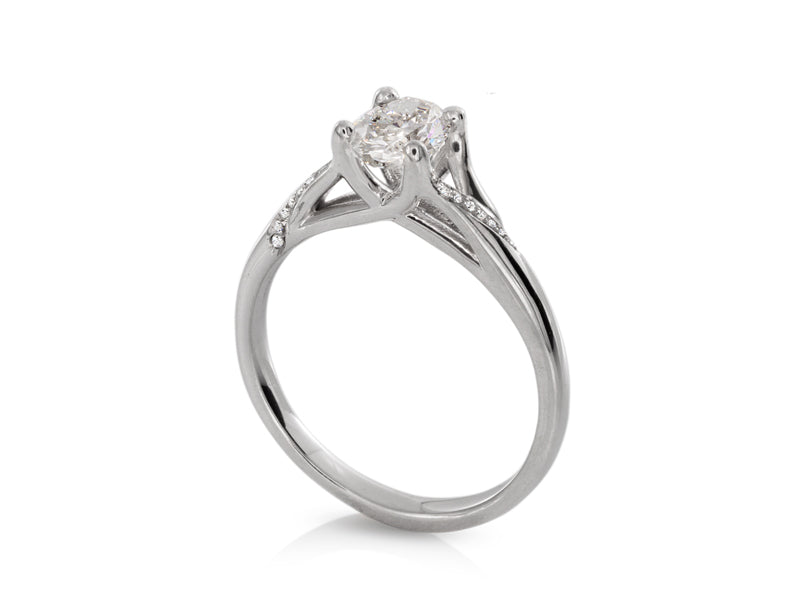 Pamela Lauz Jewellery - Oval Diamond Engagement Ring