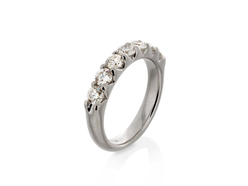 Pamela Lauz Jewellery - Large Diamond Eternity Wedding Band
