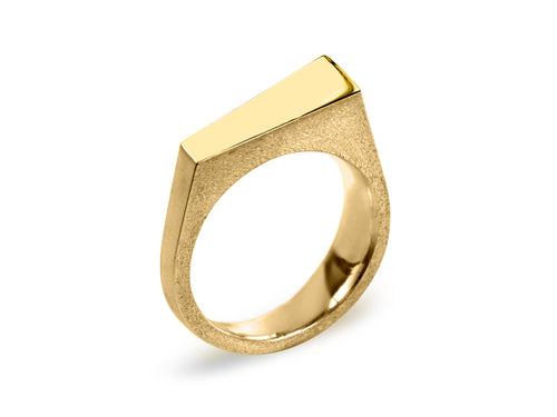 Pamela Lauz Jewellery - Facets Rings in Yellow Gold