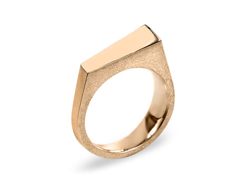 Pamela Lauz Jewellery - Facets Rings in Rose Gold
