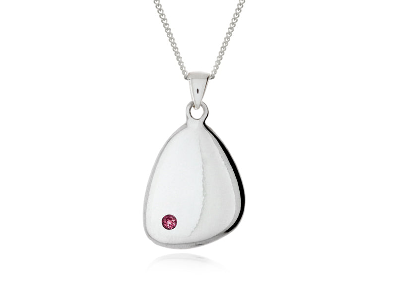 Pamela Lauz  - Terra Small Solid Pebble Necklace