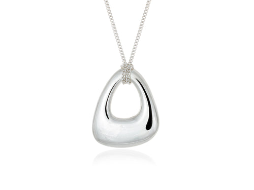 Pamela Lauz - Terra Small Open Pebble Necklace