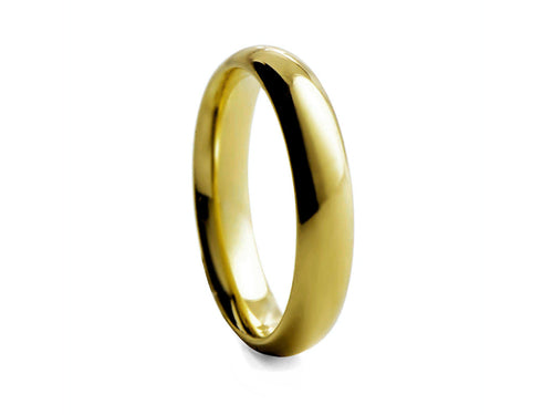 Pamela Lauz Jewellery - Gold-plated Tungsten Band
