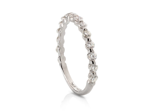 Pamela Lauz Jewellery - Round Bead Diamond Eternity Band