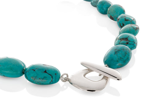 Terra Grand Open Pebble Necklace