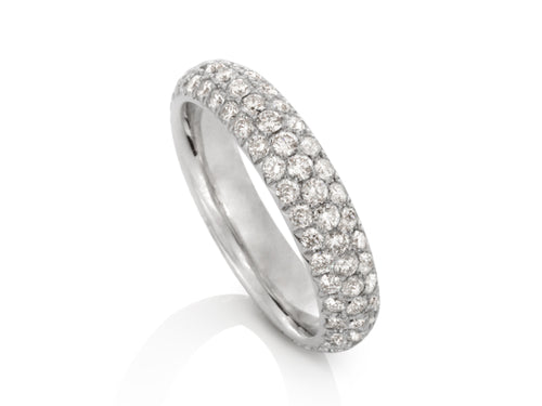 Pamela Lauz Jewellery - Diamond Pave Wedding Band