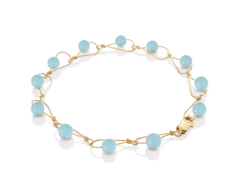 Terra Open Pebble Bangle