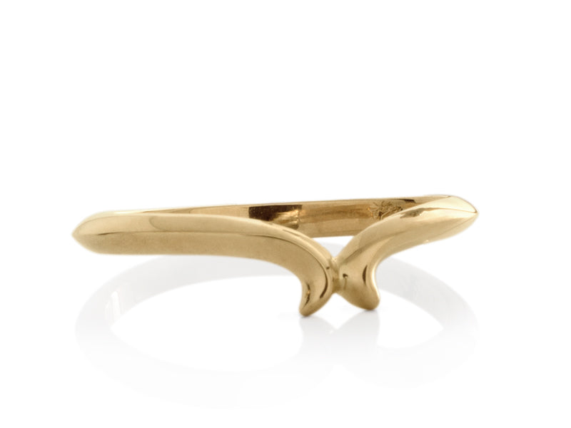 Pamela Lauz Jewellery - Custom Sculptural Wedding Band
