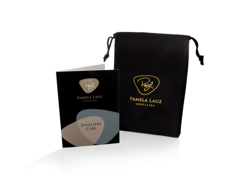 Anti-Tarnish Pouch and Polishing Cloth Set