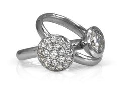 Pamela Lauz Jewellery - Dolci Round Wedding Rings