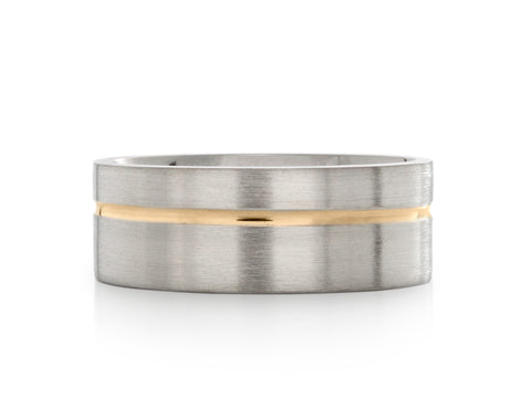 Solstice Beveled Band