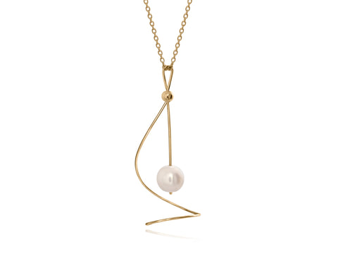 Diamond Yellow Gold Pendant