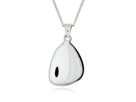 Terra Pebble Pendants with Engraved Fingerprints