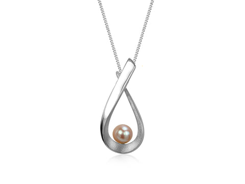 Pirouette Sea Bamboo Twist Necklace