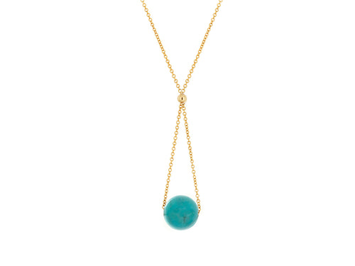 Chandelier Turquoise Dainty Necklace