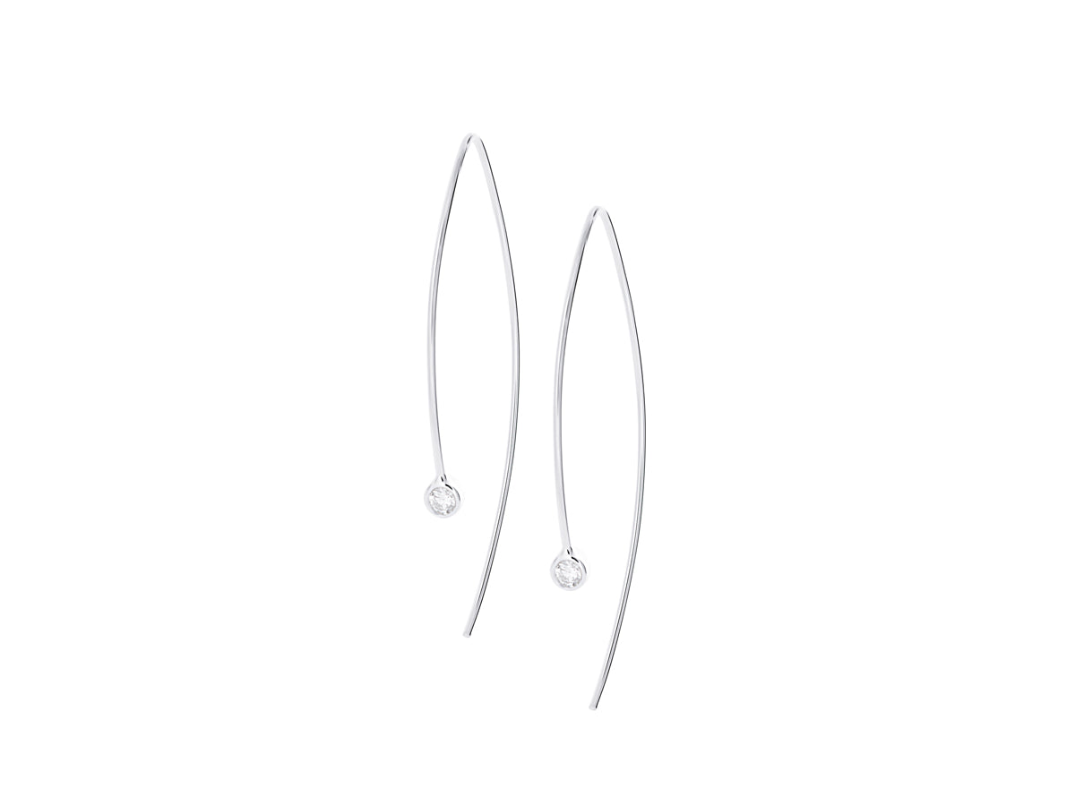 Element Diamond Earrings