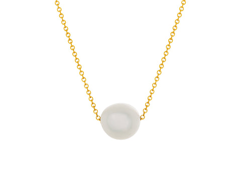 Element Pink Pearl Slide Necklace