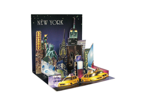 NYC Skyline Popup Card