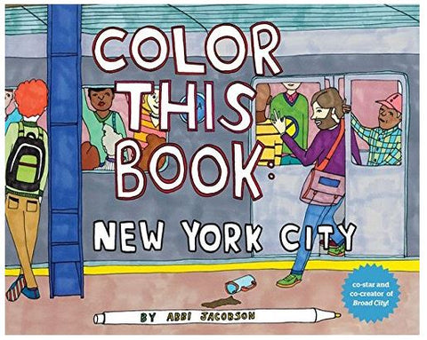 Color this Book: NYC