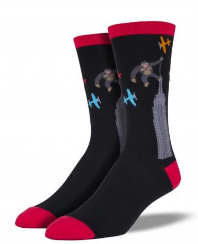 Sock: Kong Black