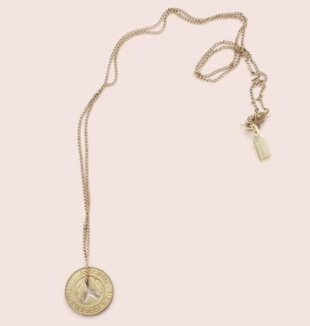 NYT Token Necklace: Small Y