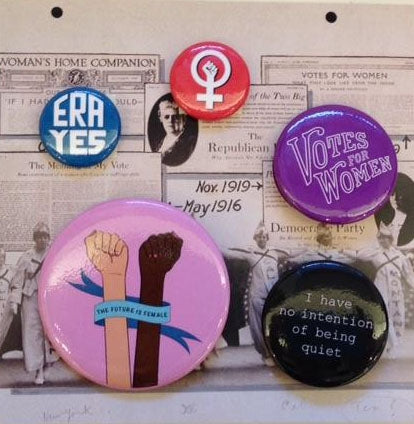 Suffrage Button 5 pack