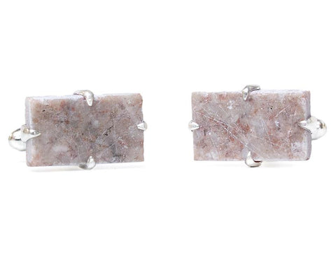 Grand Central Marble Cuff Link