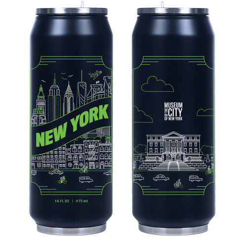 Museum of the City of New York Flip-Top Water Bottle