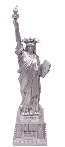 "Statue of Liberty Silver 7"" Replica"