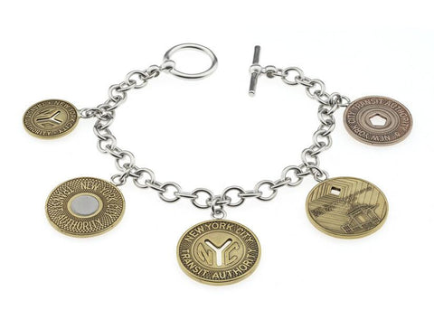 New York Transit Token Bracelet