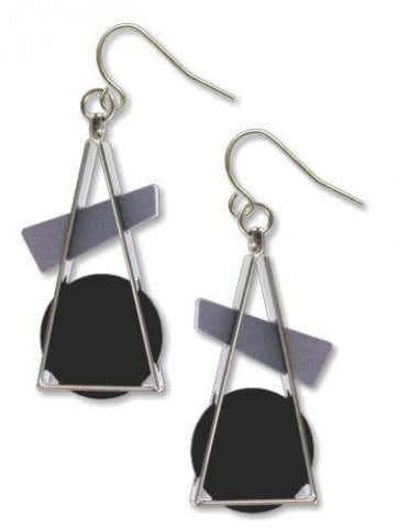 Triangle At Rest Earrings